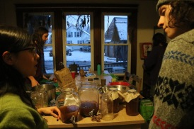 The kombucha workshop hosted just for Chris because of his ambitious of wanting to make kombucha for his peers and friends.