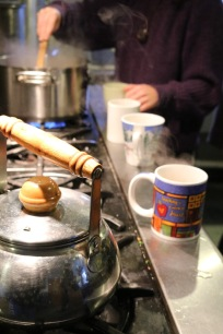 On a cold winter day while having a tea party at the farmhouse is the best warming activities to do at GMC.